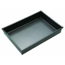 Moldes y bandejas de color principal negro de acero al carbono para horno