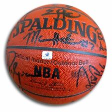 LA Clippers Team Signed Autographed Basketball Maggette Brand 05-06 GV541646