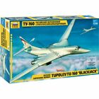 Zvezda 7002 Tu-160 Blackjack /russian supersonic heavy strategic bomber/ 1/144