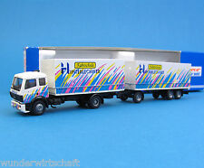 Roco H0 1572 MB 1838 Hängerzug LKW FAHRSCHULE HINTERLECHNER HO 1:87 truck