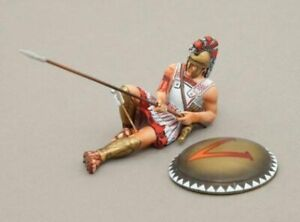 THOMAS GUNN GREEK WARS SPA009A Spartan Wounded Std Shield Down But Not Out