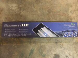 Deep Blue Professional Adb42224 Solarmaxhe Double T5 Strip Light For Aquarium