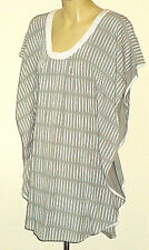 SUMAKHI GreyStripedScoopedNeckCoverall Size8 as NEW*