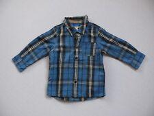 ★ESPRIT*Hemd Jungen,Gr. 92★kariert,blau,schick,festlich,Shirt,langarm,Jungs