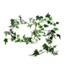 Artificial Ivy Garland Small Leaf Dark Green 6ft
