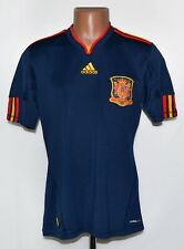 SPAIN NATIONAL TEAM 2010/2011 AWAY FOOTBALL SHIRT JERSEY ADIDAS SIZE M ADULT
