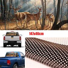 1x Forest Male Deer Decoration Sticker Pickup Rear Window Vinyl Decal Waterproof
