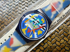 SWATCH SILVER PATCH GN132 (LEER)