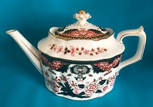 Royal Crown Derby Japan A1336 Teapot 1st Quality
