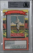 2017 HISTORIC AUTOGRAPHS HA ORIGINALS 1930s OSCAR MELILLO DELONG AUTO SP #'d 5/5