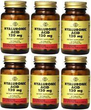Solgar Hyaluronic Acid 120 mg 30 tabs (6 Pack)