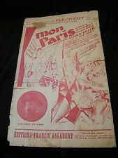 Partition Mon Paris Lucien Boyer Music Sheet