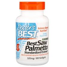 Doctor's Best, Euromed Best Saw Palmetto Standardized Extract 320 mg 180 SOFGELS