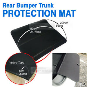 Rear Bumper Trunk Protection Cargo Mat waterproof Anti Scratch Pad For JAGUAR
