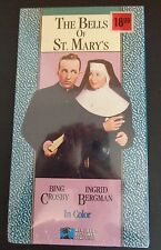 THE BELLS OF ST. MARY'S New VHS Bing Crosby Ingrid Bergman FREE SHIPPING Sealed