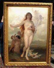 Wilhelm Kray antique oil painting Venus Aphrodite