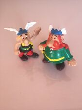 Rare Asterix & Panoramix PVC Figurine (Comics Spain, 80's)
