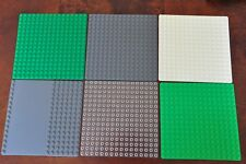 1x Lego base plate Building Board Mat Thin 16 x 16 Studs Grey, Green or Driveway