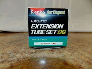 Kenko Automatic Extension Tube Set for Nikon AF