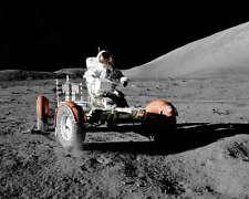NASA APOLLO 17 LUNAR ROVING VEHICLE 8x10 PHOTO CERNAN