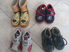 Lot de 3 paires : chaussures, bottes, pointure 22 bon état