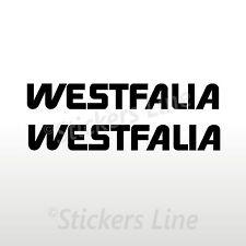2 Adesivi per camper WESTFALIA adesivo decalcomanie scritte adesive caravan