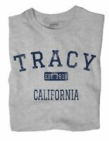 Tracy California CA T-Shirt EST