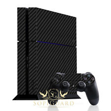 SopiGuard Carbon Fiber Skin Full Body Film Protector for Sony PS4 PlayStation 4