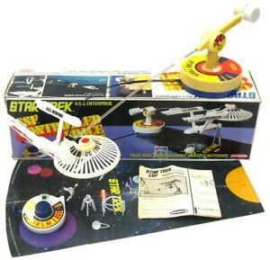 Vintage 1976 Remco Star Trek Enterprise CSF Space Flight Vertibird w/Box Works