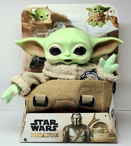 "Star Wars Mandalorian THE CHILD BABY YODA 11"" Plush Talking Toy NEW IN STOCK"