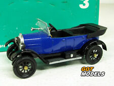 RIO MODELS 3 - 1/43 SCALE MODEL CAR - 1918 TORPEDO SPORT FIAT MOD. 501