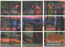 "Dexter The Third Season - ""Puzzle Cards"" Set Of 9 Chase Cards #D3-CP1-9"