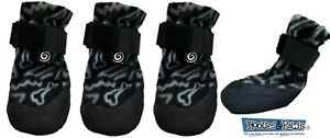DOG BOOTS Ultra Paws Protective TRACTION COZY Winter All Weather Antislip Sizes