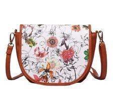 Damen Handtasche Umhängetasche kleine Tasche Schultertasche Blumen Vintage 51885