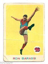 1964 Scanlens (4) Ron BARASSI Melbourne Fair.