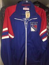 New York Rangers Warmup Track game day NHL Hockey jacket