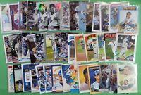 JAVIER BAEZ lot of 43 different cards 2021, 2020 + 2019 Cubs