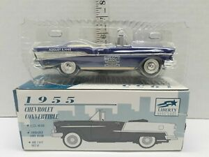 Liberty Classics 1957 Chevy Convertible Diecast Bank LE  BRICKYARD 400