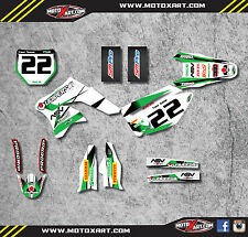 Kawasaki KXF 250 2006 2007 2008 Decal kit STORM STYLE Full Graphics / stickers