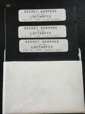 Secret Weapons of the Luftwaffe for IBM/Tandy Game 5.25 Media