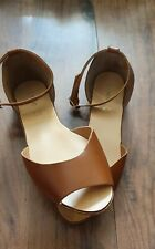 New Next Genuine Leather Tan Shoes - Size 6