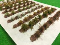 Farm Crops x10 Set 04 - Model Railway Static Grass Tufts Garden Allotment Field