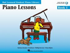 HAL LEONARD PIANO LESSONS BOOK 1 AUDIO AND MIDI ACCESS INCLUDED HLSPL ***NEW***