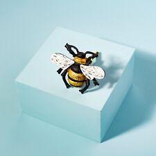 Sass & Belle Honey Bee Gold Iron Drawer Knob Cupboard Pull Handle