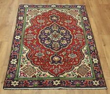 Persian Traditional Vintage Wool 143cmX 95cm Oriental Rug Handmade Carpet Rugs
