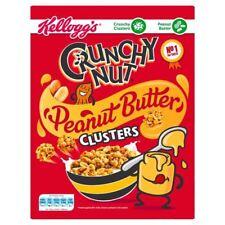 Kellogg's Crunchy Nut Peanut Butter Clusters - 525g (1.16lbs)