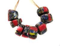 Fine old Venetian Antique Crumb Millefiori African Glass Trade beads