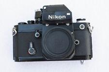 Nikon F2 SLR Film Camera Body Photomic w/ DP1 Viewfinder - Bad Meter