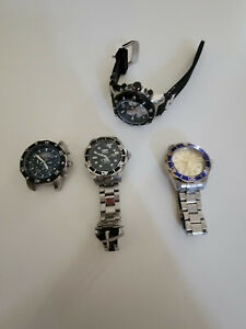 Invicta watches Lot 4 watches for parts or repair AS-IS