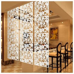 Fashion Butterfly Bird Flower Hanging Screen Partition Divider Home Decoration